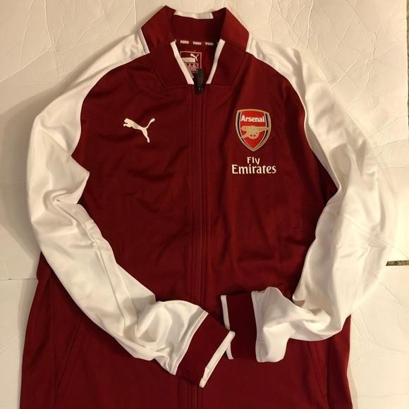 9cb168ca4 Puma Jackets & Coats | Arsenal Fc Stadium Jacket | Poshmark